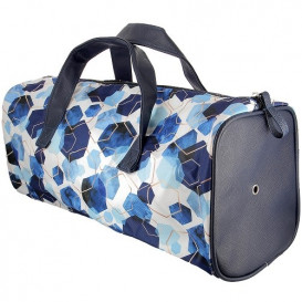 sac tricot hexagone 46x16x17cm
