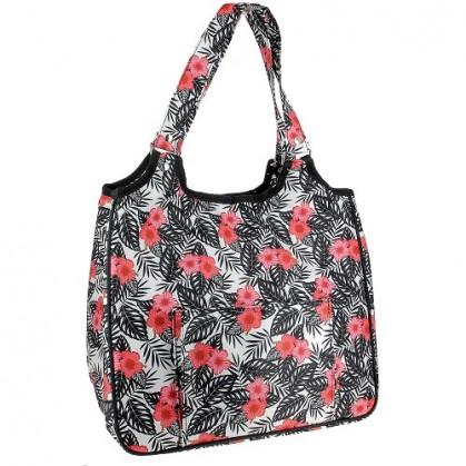 sac à ouvrages fleurs 35x25x30cm