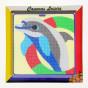 kit canevas enfant gros points dauphin
