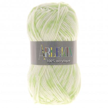 pelote de laine arlekin (10 coloris)