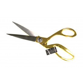 ciseaux couturière métal or 24cm