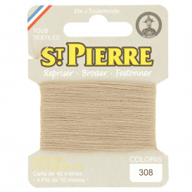 fils à repriser Saint Pierre chair n°308
