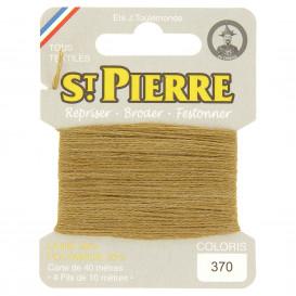 fils à repriser Saint Pierre beige basané n°370