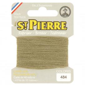 fils à repriser Saint Pierre seigle n°484