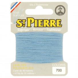 fils à repriser Saint Pierre bleu ciel n°700