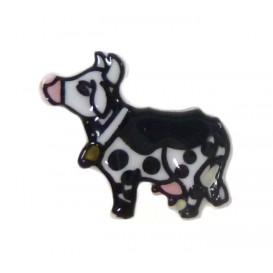 bouton enfant vache