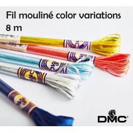 fil à broder DMC mouliné variations