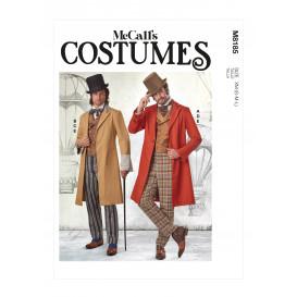patron déguisement hommes McCall's M8185