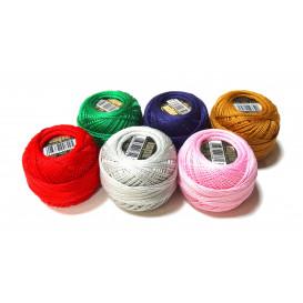 fil coton perlé ISPE n°8 uni