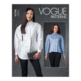 patron chemise moulante Vogue V1770