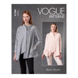 patron chemises amples Vogue V1784