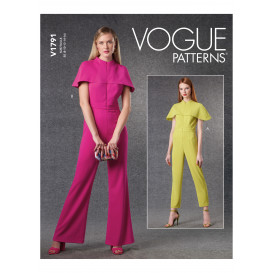 patron combinaison Vogue V1791