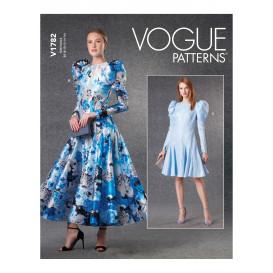 patron robe Vogue V1782