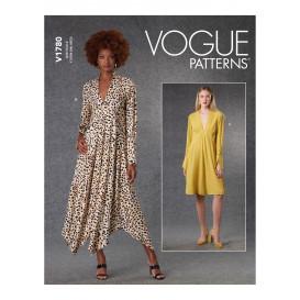 patron robe ample Vogue V1780