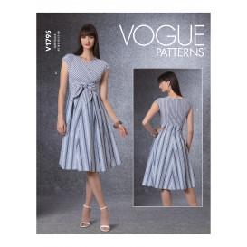 patron robes ajustées Vogue V1795