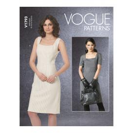 patron robes doublées Vogue V1793