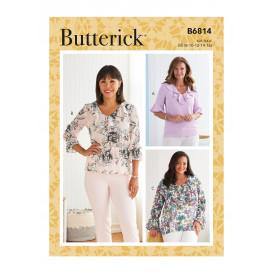 patron haut Butterick B6814