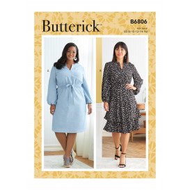 patron robe Butterick B6806
