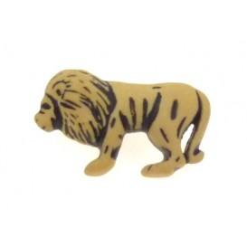 bouton enfant lion