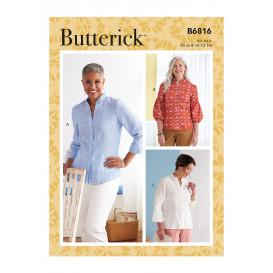 patron hauts Butterick B6816