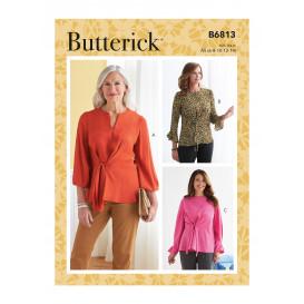patron haut Butterick B6813