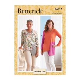 patron haut Butterick B6817