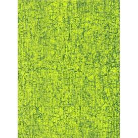 feuille décopatch faux uni vert
