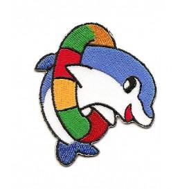 écusson dauphin cerceau n°2