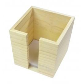 bloc note en bois