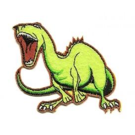écusson dinosaure