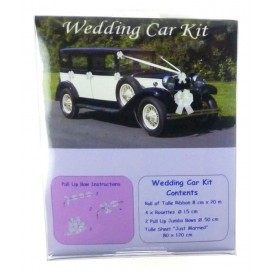 kit décoration voiture tulle