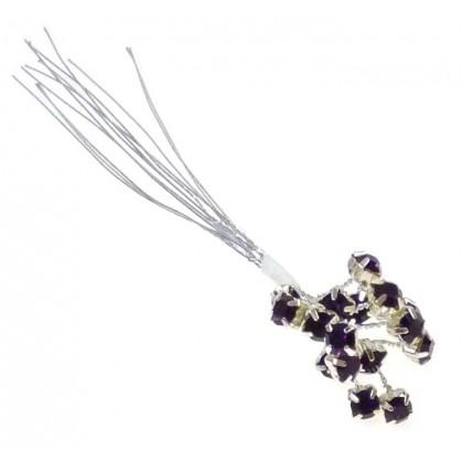 bouquet 18 strass