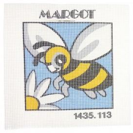 kit canevas abeille