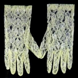 gants mariée dentelle