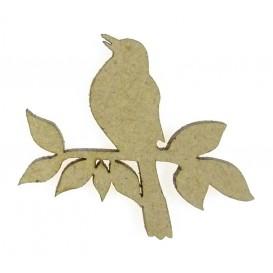 sujet en bois oiseau