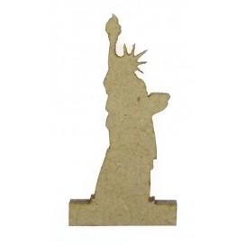 sujet en bois statue de la liberté