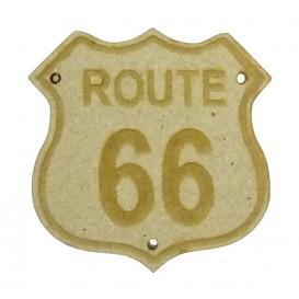 sujet en bois route 66