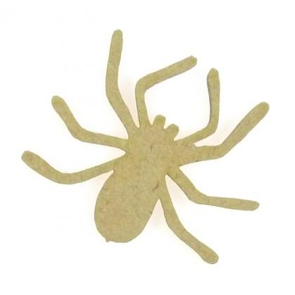 sujet en bois araignée