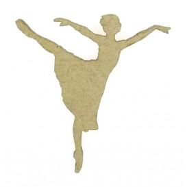 sujet en bois danseuse