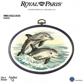 kit cadre ovale dauphins