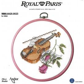 kit cadre rond violon