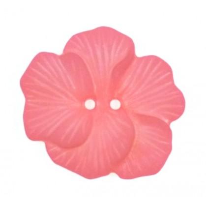 bouton déco fleur exonique 48mm