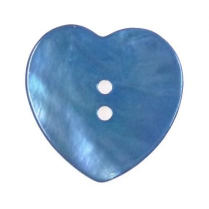 bouton nacre coeur