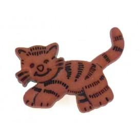 bouton enfant chat