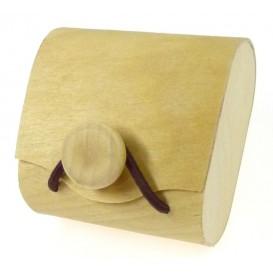boîte à dragées sac en copeaux de bois