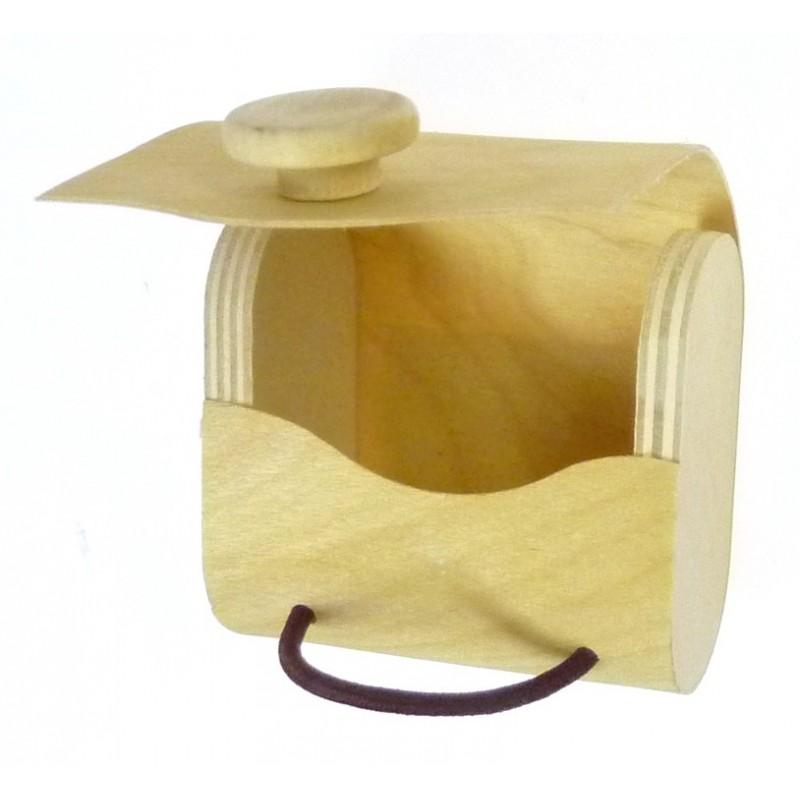 bo te drag es sac en copeaux de bois. Black Bedroom Furniture Sets. Home Design Ideas