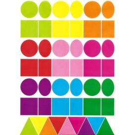 gommettes géométriques 135 pièces