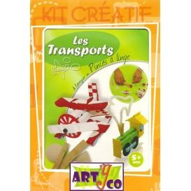 kit les transports en pinces à linge