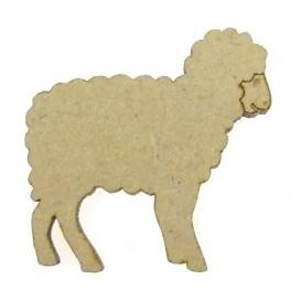 sujet en bois mouton