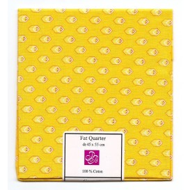coupon patchwork imprimé jaune n°2